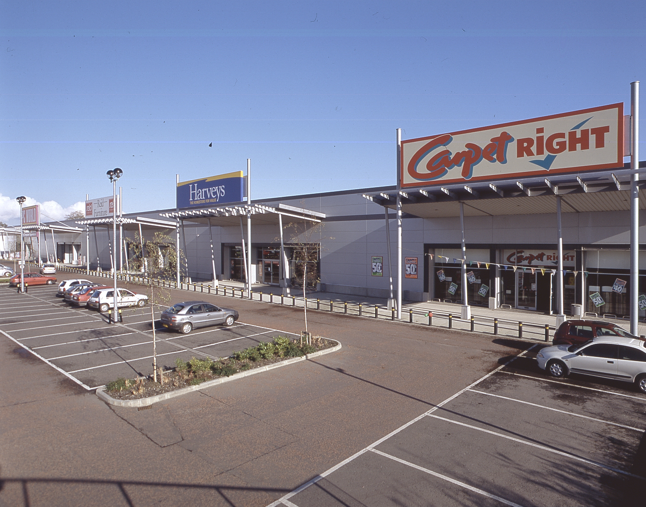 Elevational View - Site Plan - Crescent Link Retail Park, Derry