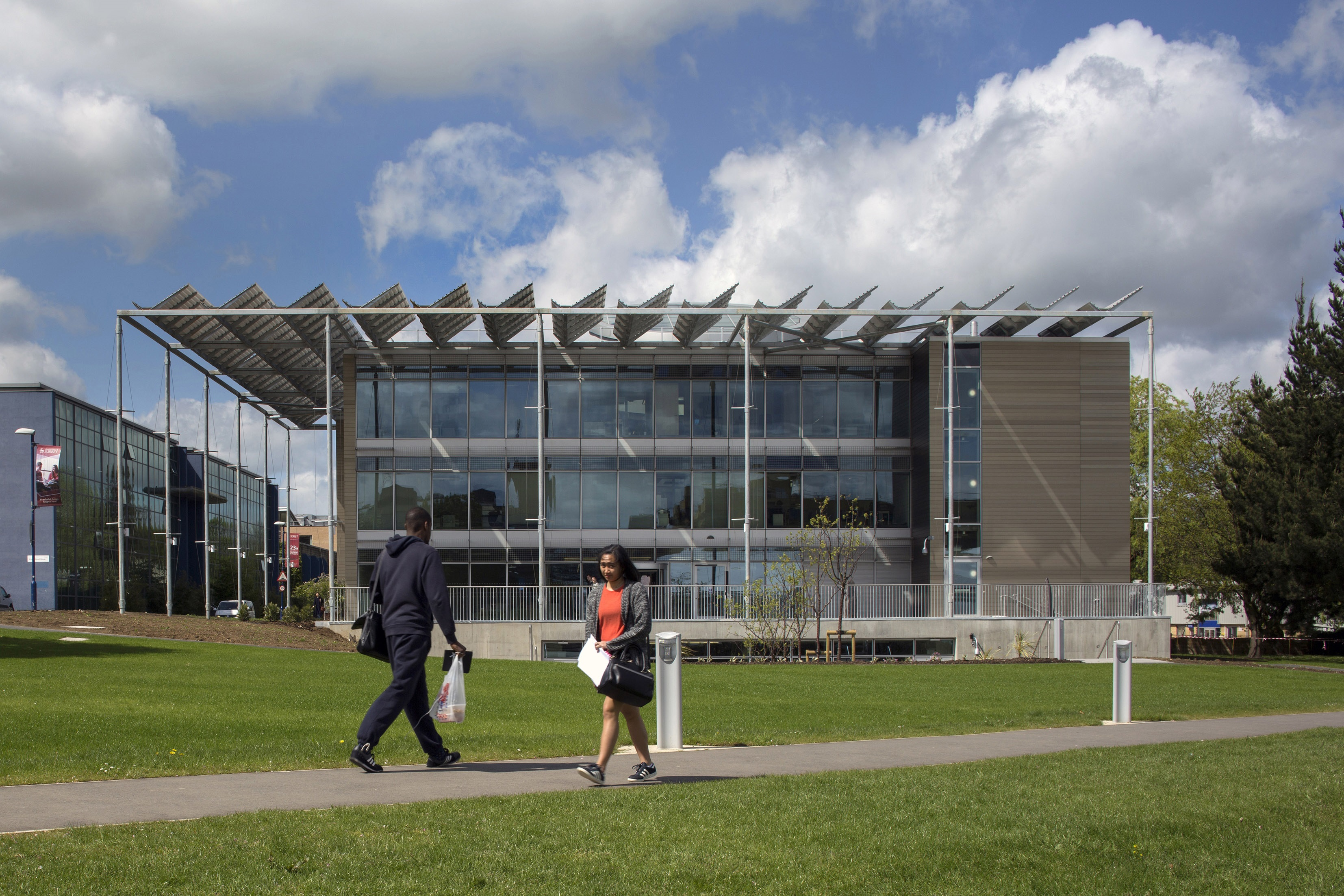 Front Elevation - 5G Innovation Centre, University of Surrey